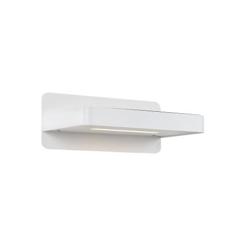 SATYNOWY LEDOWY KINKIET OZCAN 2111 LAMPA SREBRO MAT NA DIODY POWER LED 1x3W WŁĄCZNIK DO CZYTANIA PRZY ŁÓŻKU