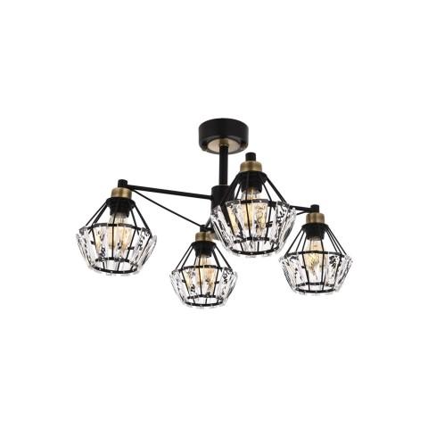 Lampa wisząca ozcan salon sypialnia jadalnia 4020-1a lampa
