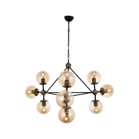 Nowoczesna srebrna lampa sufitowa plafon  led 96w  ozcan salon sypialnia jadalnia 5642-1lampa lampa