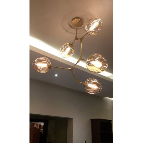 Nowoczesna  lampa wisząca  led ozcan salon sypialnia jadalnia 5639-2a lampa