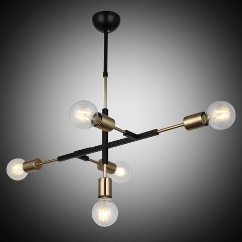 Biała lampa wisząca ozcan nad stół 5256-3as żyrandol salon