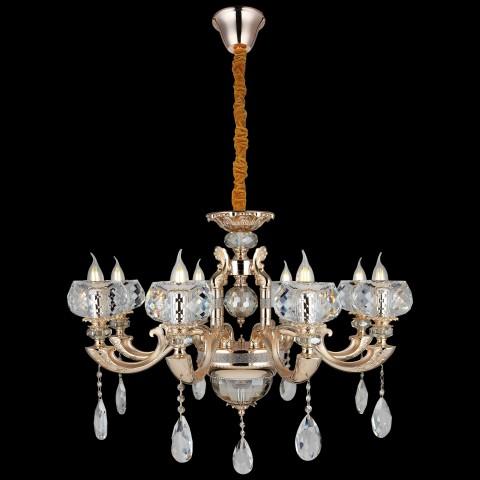 Gwiazdki lampa wisząca led ozcan 5377-5as chrom łazienka salon sypialnia