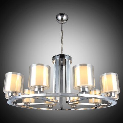Lampa led plafon ledowy ozcan 5636-6 srebro chrom salon kuchnia łazienka mocne światło