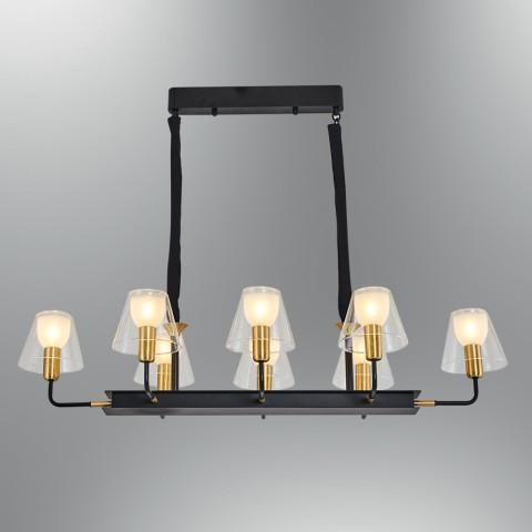 NOWOCZESNA LAMPA WISZĄCA  OZCAN  SALON SYPIALNIA JADALNIA 5628-18A  LAMPA