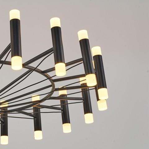 Nowoczesna lampa sufitowa plafon ozcan salon sypialnia jadalnia 5632-5 lampa