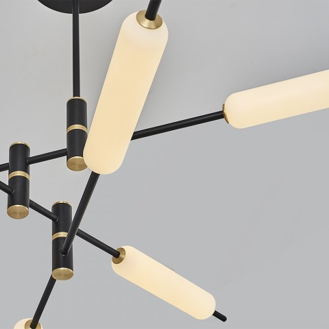 Nowoczesna lampa sufitowa plafon  ozcan  salon sypialnia jadalnia 5637-12  lampa