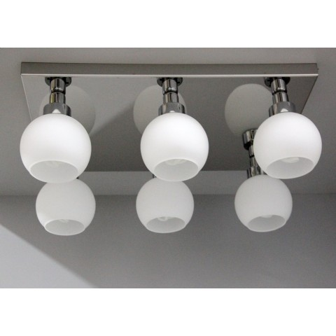 2700k patyna lampa ozcan ledowy kinkiet 69cm 5129-3 ciepła barwa światła diody led