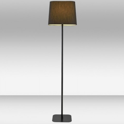 Lampa podłogowa z abażurem - Lampy podłogowe z abażurem