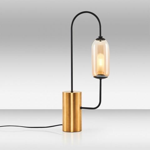 lampki biurkowe mosiężne