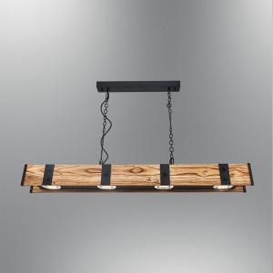 lampy wiszące drewniane - lampy drewniane