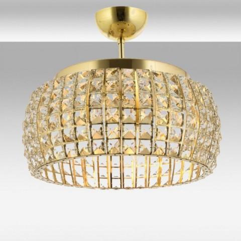 Lampy sufitowe kryształowe - Lampa sufitowa kryształowa